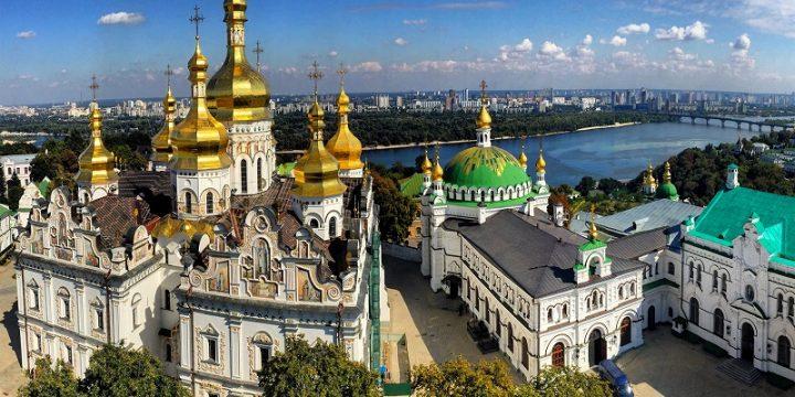 Обзорный полет над Киевом