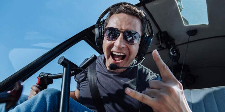 Пилотирование вертолета
