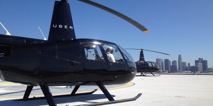 Uber запустила вертолетное такси в Нью-Йорке