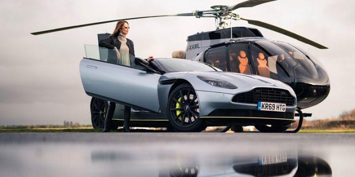 Aston Martin представила свой первый фирменный вертолет