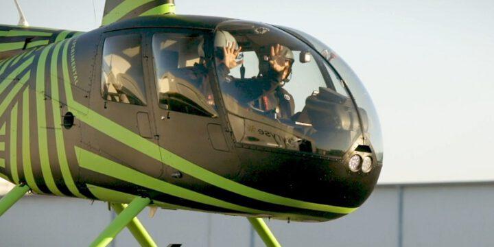 Cистема пилотирования вертолета с земли