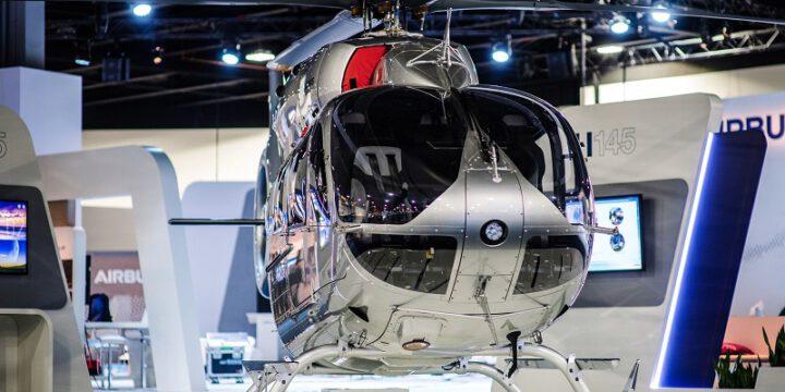 Вертолет Eurocopter 145